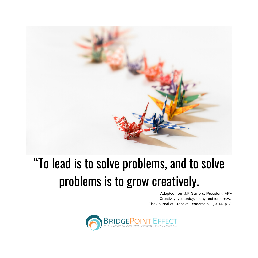 lead is to solve problems